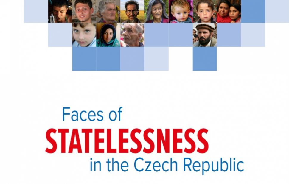 Faces of statelessness in the Czech Republic report cover